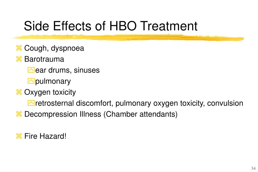 Ppt Hyperbaric Oxygen Therapy Powerpoint Presentation