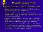 openair linux server7