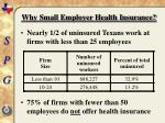 why small employer health insurance