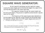square wave generator41