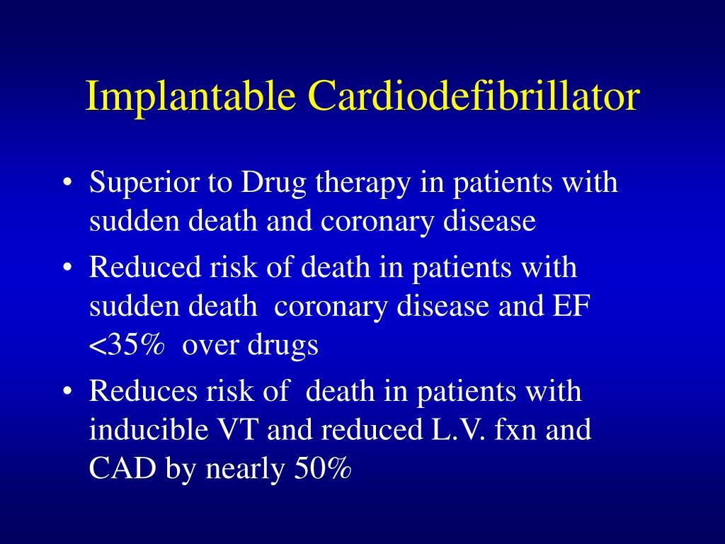 Implantable Cardiodefibrillator