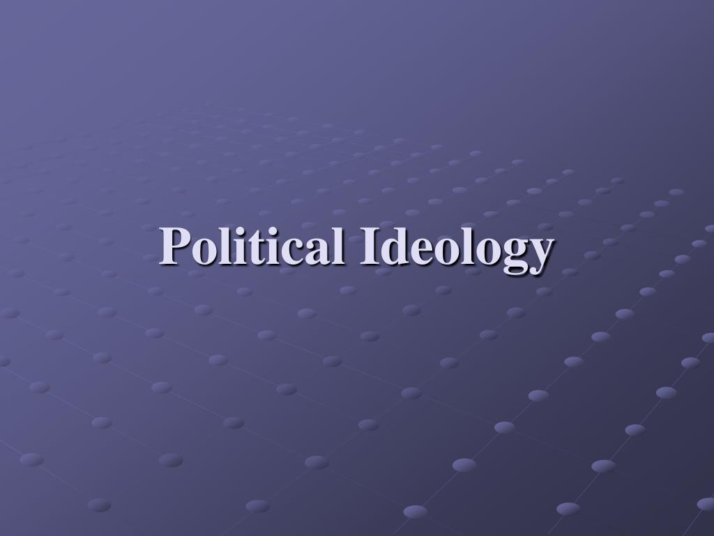 political ideology l.