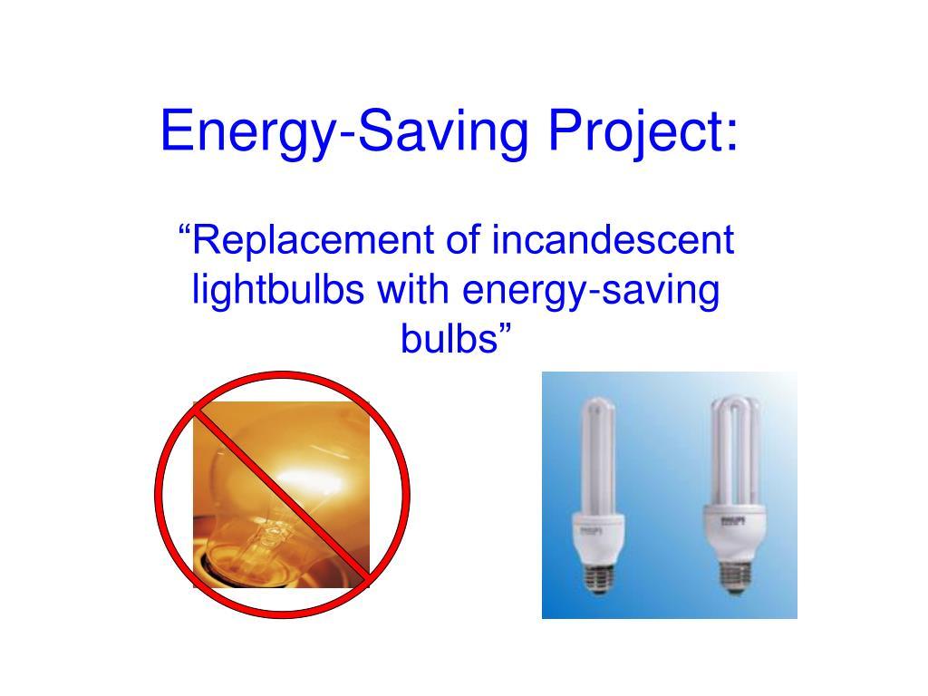 Energy-Saving Project:
