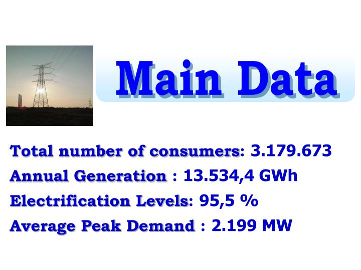 Main Data
