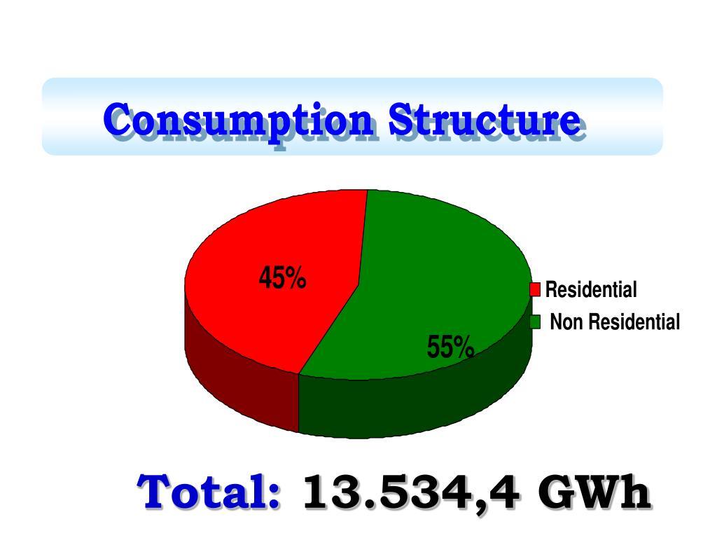 Consumption Structure