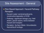 site assessment general5