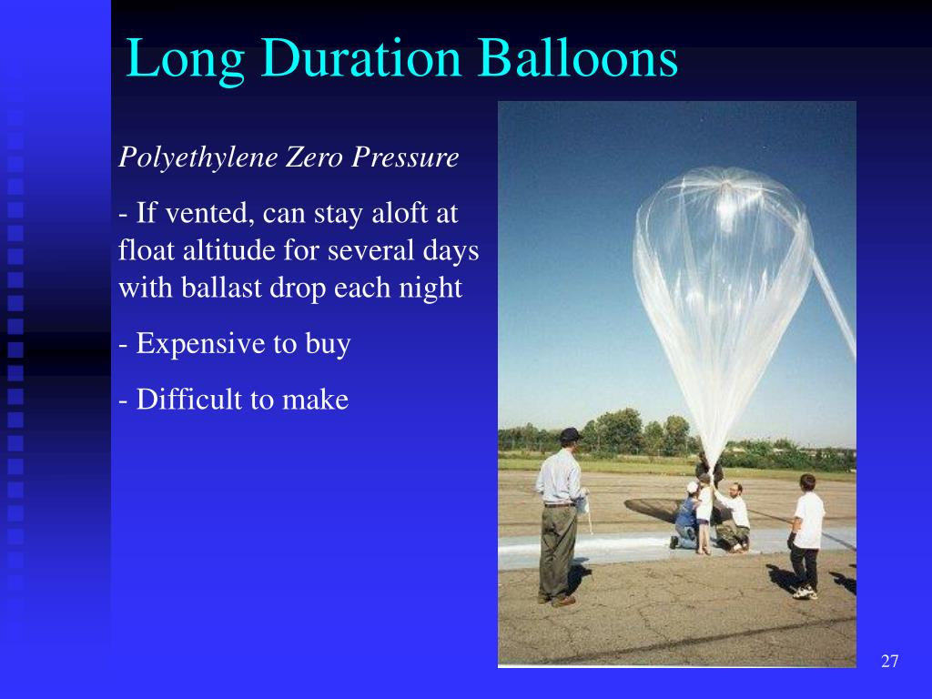 Long Duration Balloons
