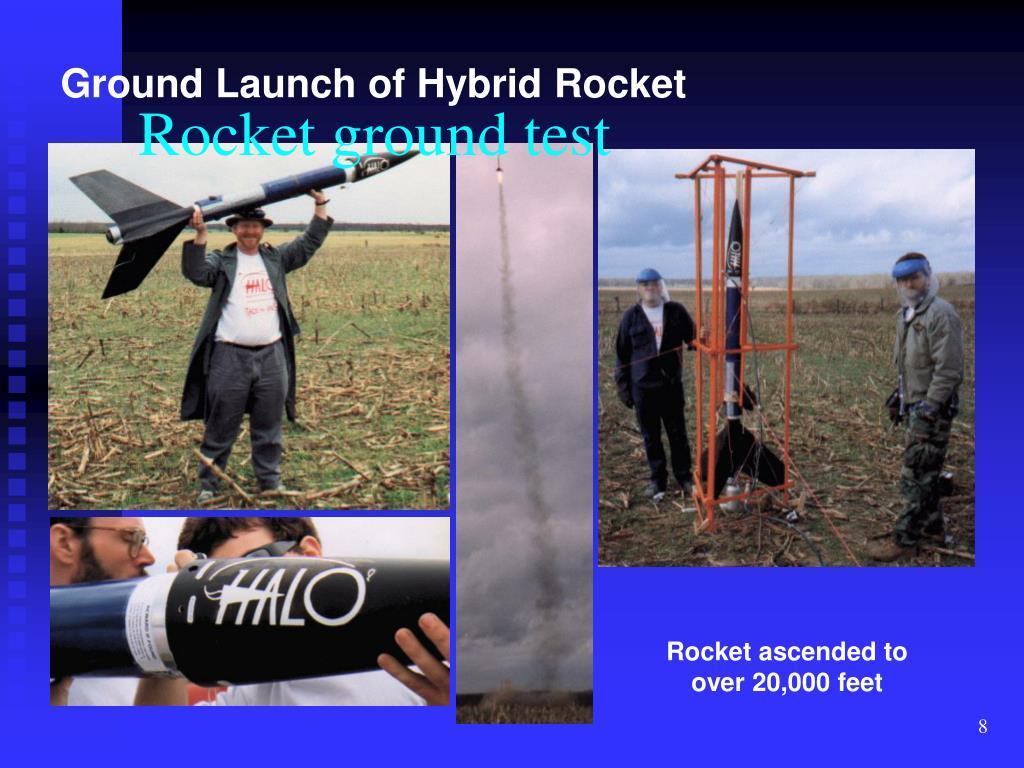 Rocket ground test