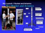 sl1 rocket and avionics