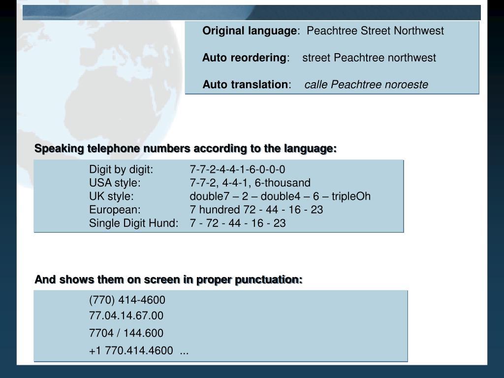 Original language