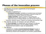 phases of the innovation process