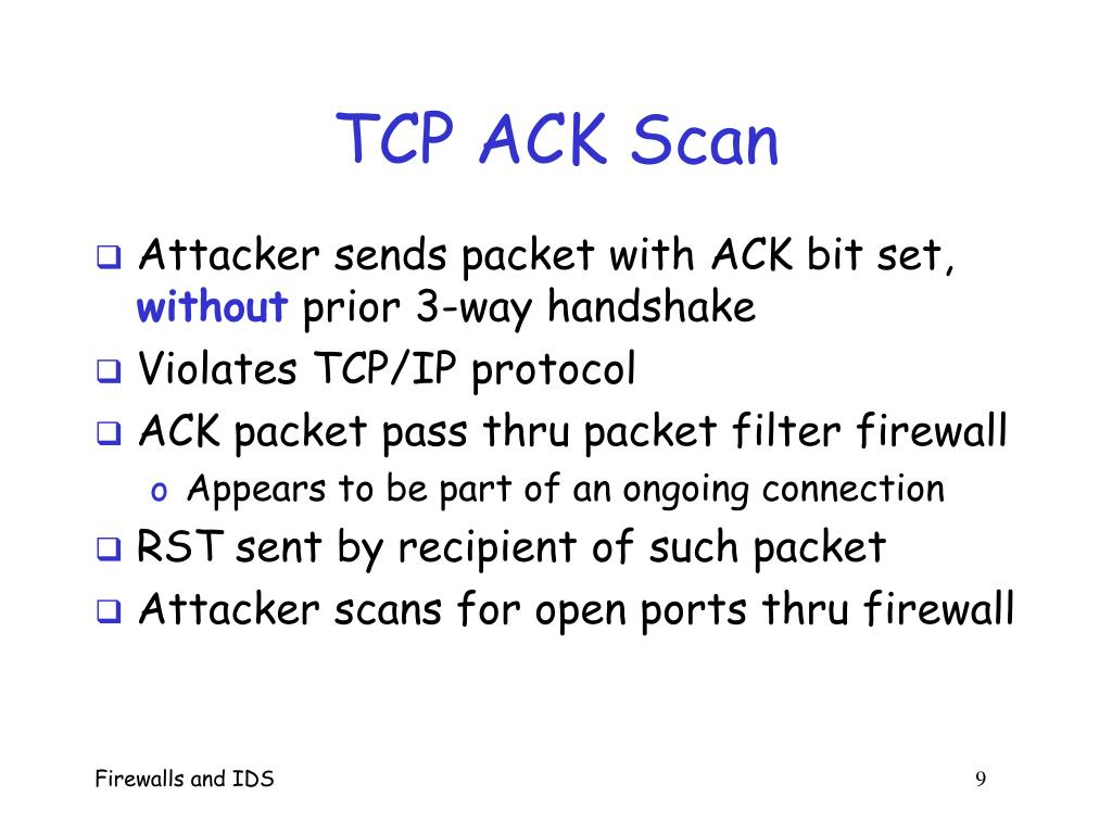 PPT - Firewalls and Intrusion Detection Systems PowerPoint