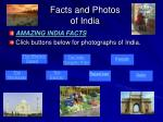facts and photos of india