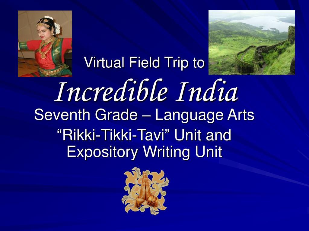 virtual field trip to incredible india l.