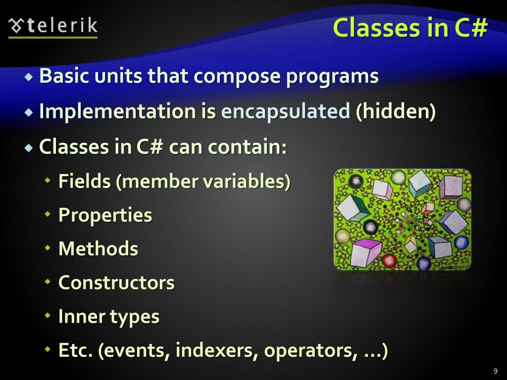Classes in C#