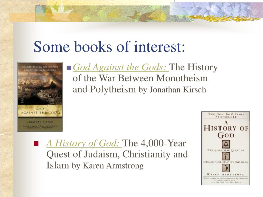 Some books of interest: