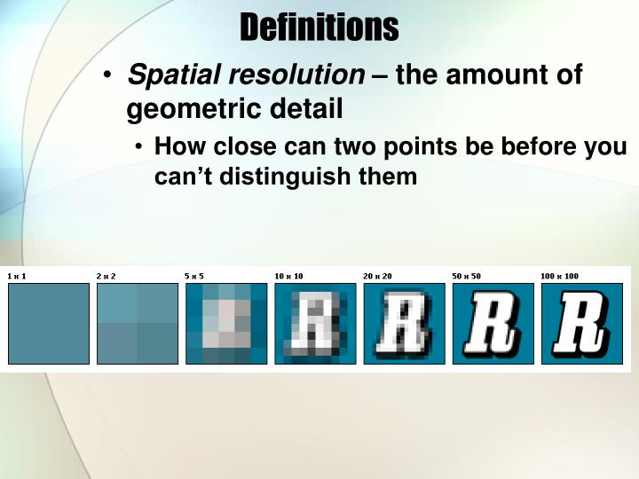 Definitions3