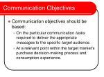communication objectives10
