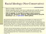 racial ideology neo conservative