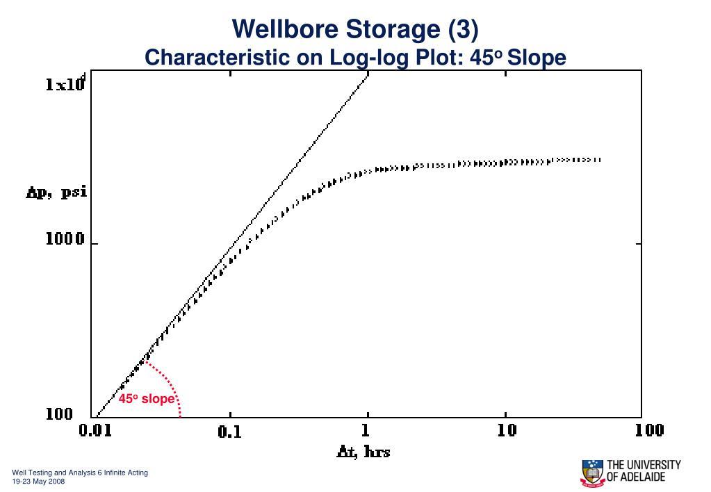 Wellbore Storage (3)