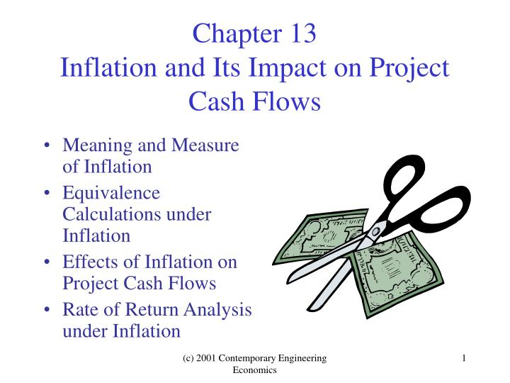 chapter 13 inflation and its impact on project cash flows n.