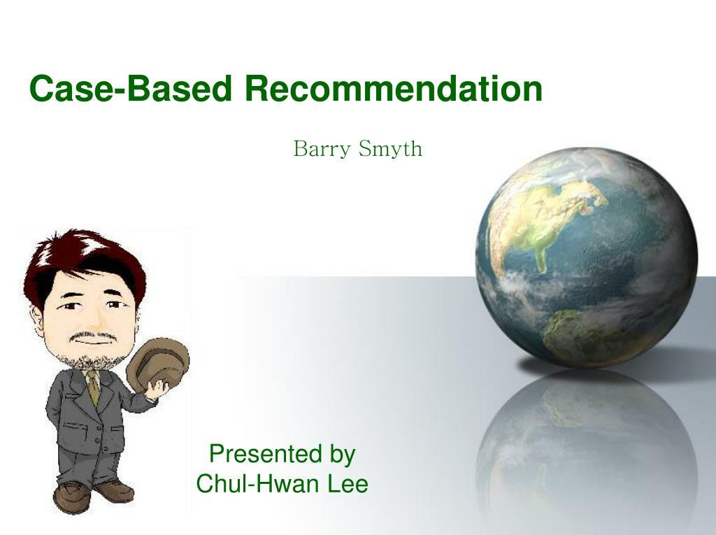 Case-Based Recommendation