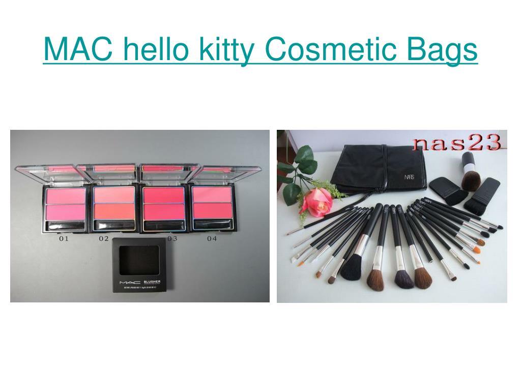MAC hello kitty Cosmetic Bags