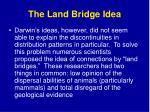 the land bridge idea