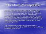 why study oceanography9