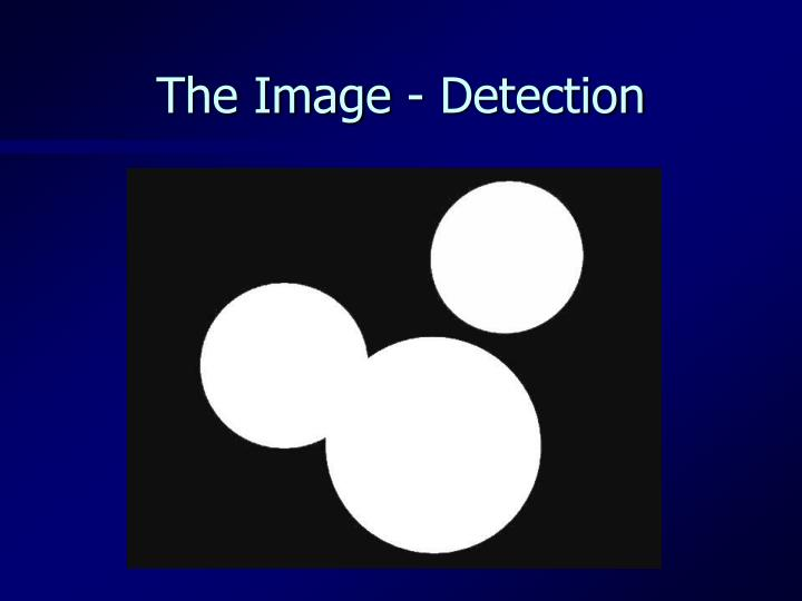 The Image - Detection