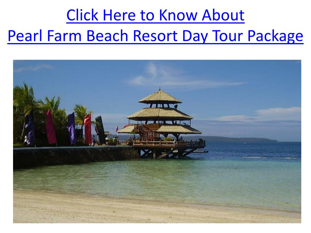 click here to know about pearl farm beach resort day tour package l.