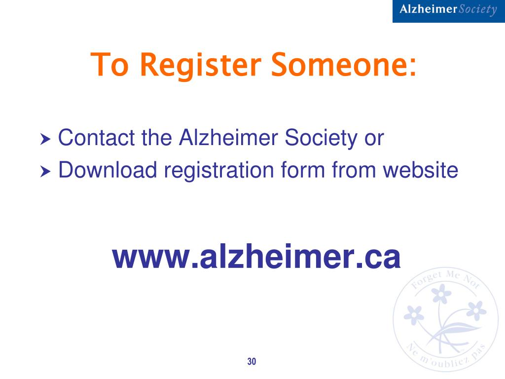 To Register Someone:
