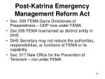 post katrina emergency management reform act54