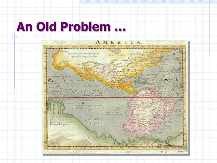 An old problem