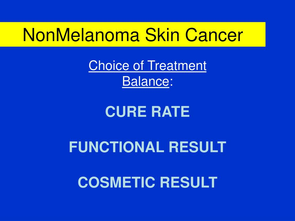NonMelanoma Skin Cancer