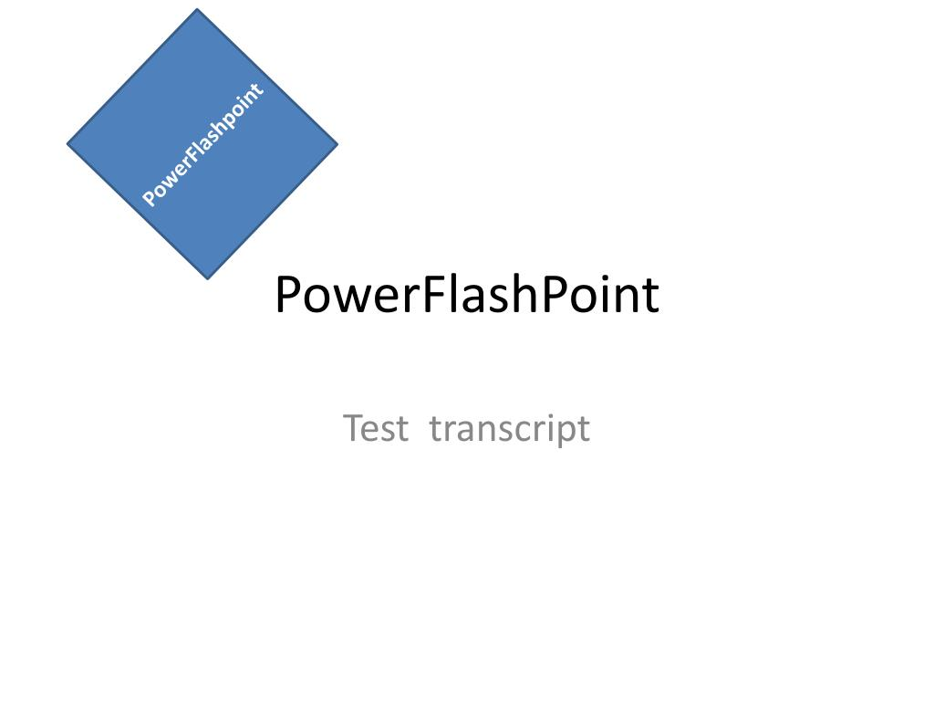 powerflashpoint l.