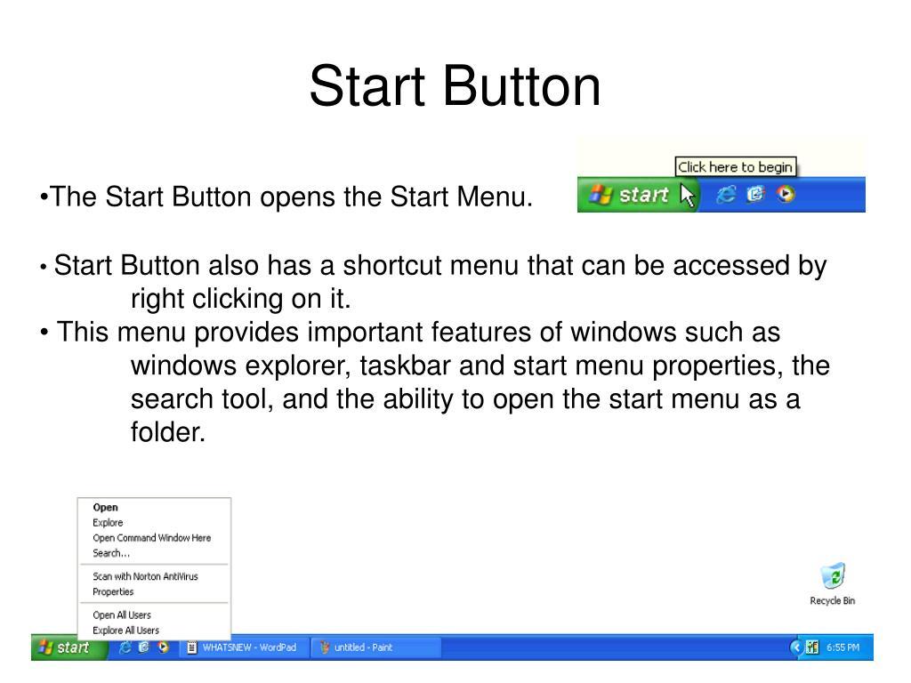 Start Button