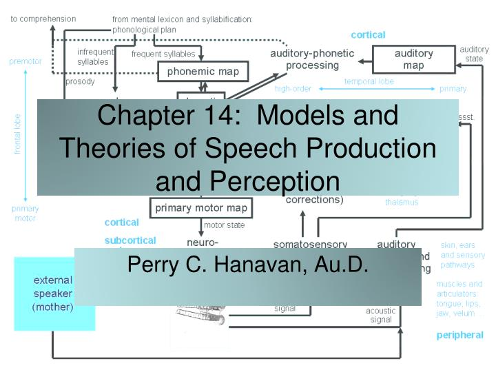 top down processing speech comprehension In general studies with lesioned people have shown that anterior areas are needed for speech output and posterior regions for speech comprehension as mentioned above anterior regions are also more important for syntactic processing, while posterior regions are involved in semantic processing.