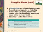 using the mouse cont12