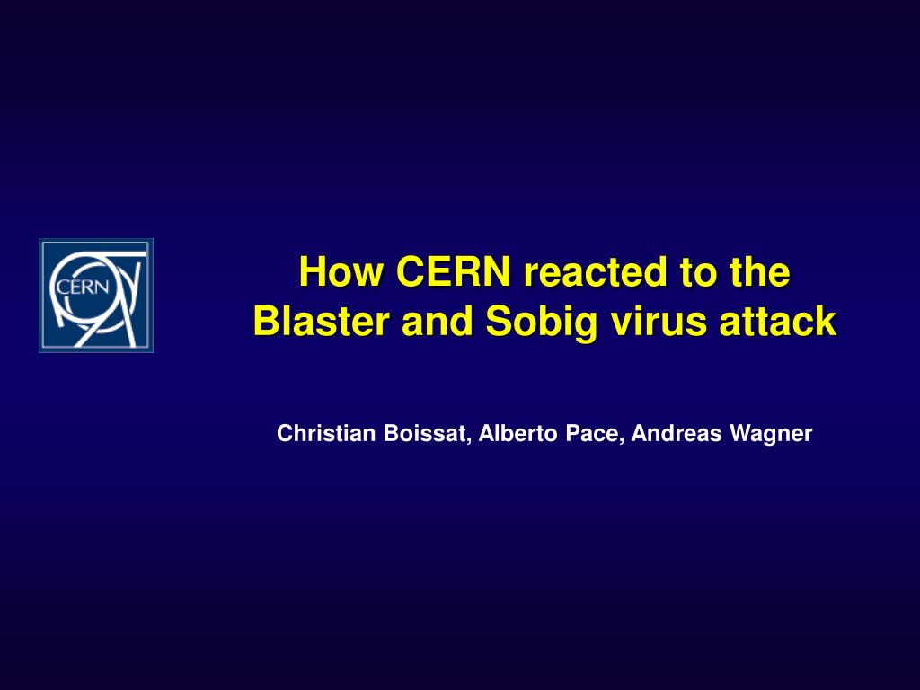 How CERN reacted to the