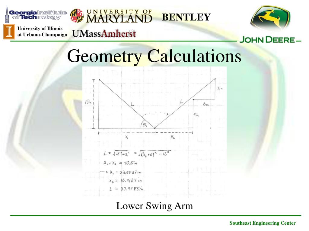 Geometry Calculations