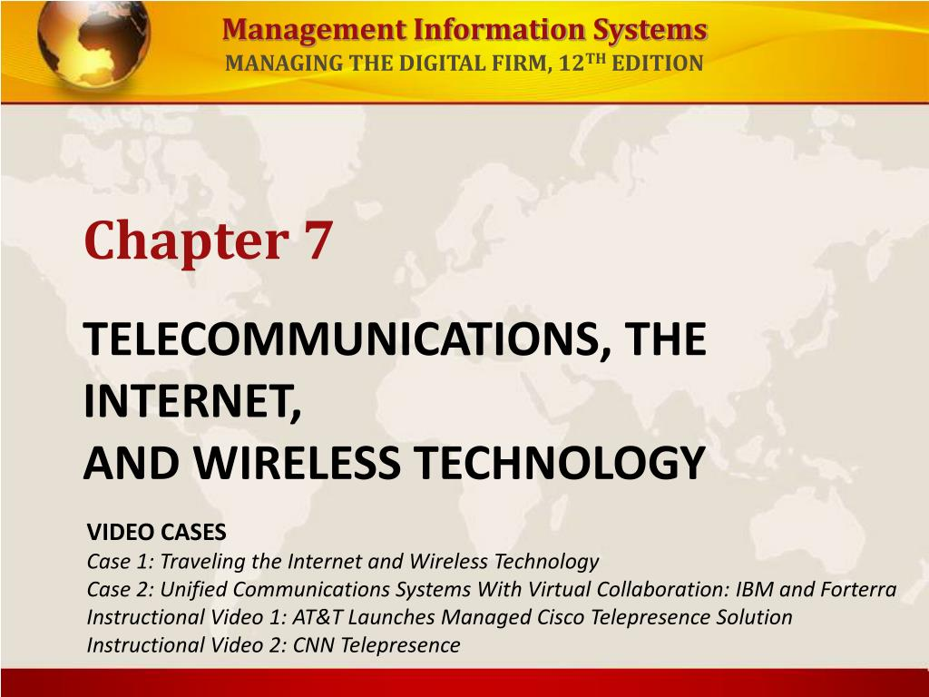telecommunications the internet and wireless technology l.