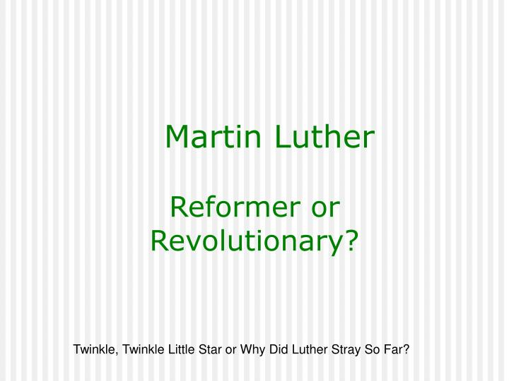 an analysis of martin luther in the early 1500s Martin luther was born on 10 november 1483 in eisleben his father was a copper miner luther studied at the university of erfurt and in 1505 decided to join a monastic order, becoming an augustinian friar he was ordained in 1507, began teaching at the university of wittenberg and in 1512 was made.