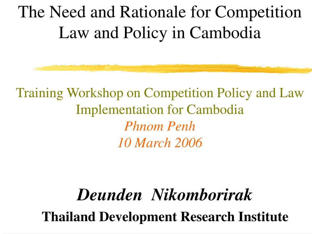 deunden nikomborirak thailand development research institute l.