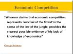 economic competition