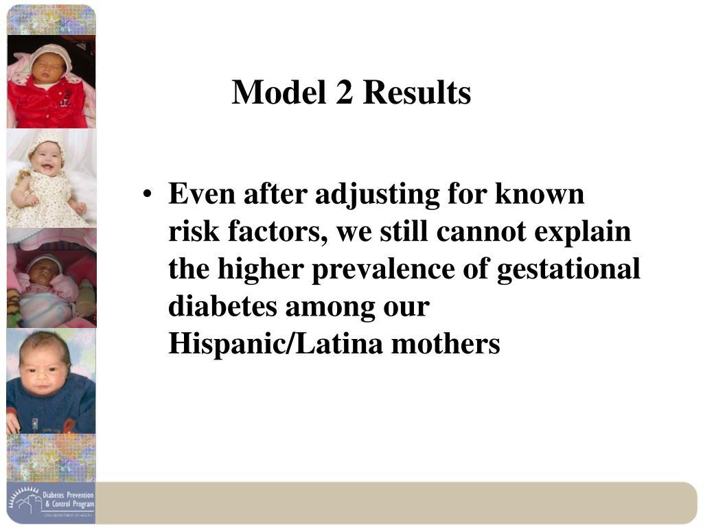 Model 2 Results