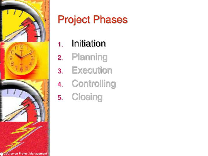 Project phases3