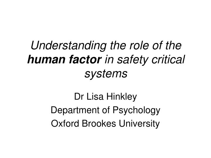 safety critical aviation systems essay Aviation safety agency of 28 november 2003 on acceptable means of role on this matter in order to define such systems and the associated critical tasks.