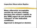 inspection observation replies14