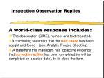 inspection observation replies26